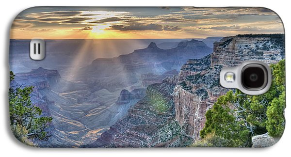 Sunset At Northern Rim Of The Grand Canyon Galaxy S4 Case