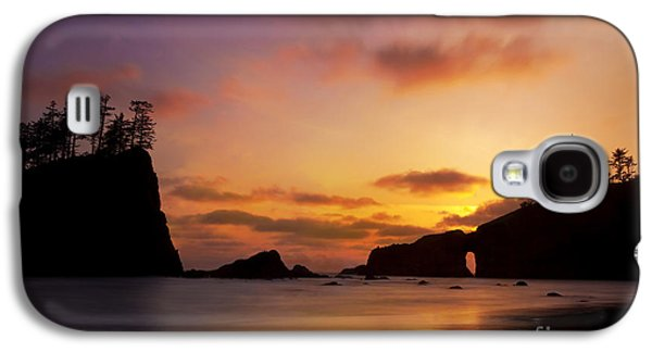 Sunset At Second Beach Galaxy S4 Case by Keith Kapple