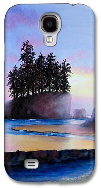 Sunset At Tongue Point Galaxy S4 Case by Shelley Irish