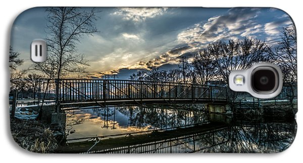 Sunset Bridge 2 Galaxy S4 Case by Randy Scherkenbach