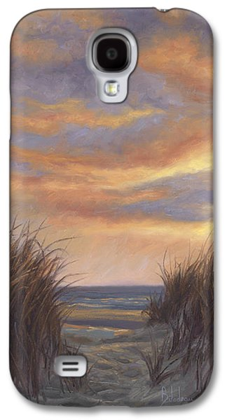 Beach Sunset Galaxy S4 Case - Sunset By The Beach by Lucie Bilodeau