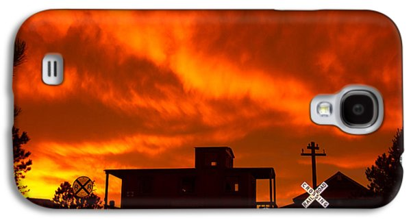 Sunset Caboose Galaxy S4 Case by Dawn Key