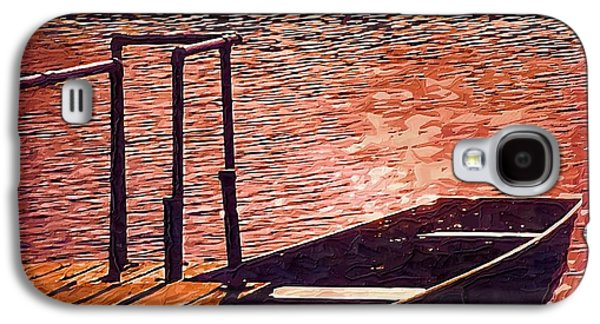 Sunset Canoe Galaxy S4 Case