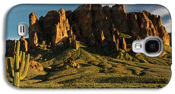 Sunset, Flat Iron Mountain, Lost Galaxy S4 Case by Michel Hersen
