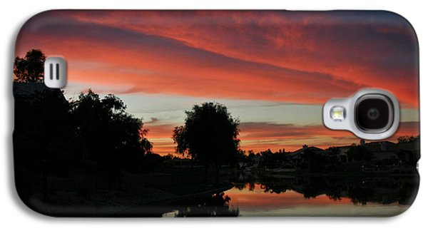 Sunset Gilbert Arizona 2004 Galaxy S4 Case