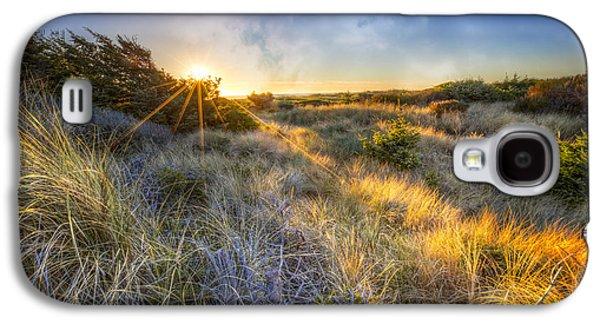 Sunset Glow On The Dunes Galaxy S4 Case