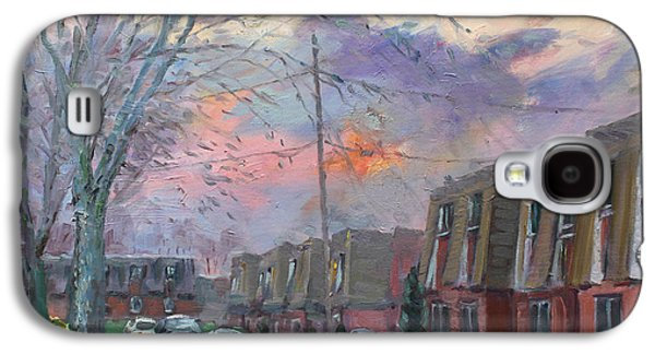 Sunset In Royal Park Apartments Galaxy S4 Case by Ylli Haruni