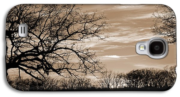 Sunset Is Sepia  Galaxy S4 Case