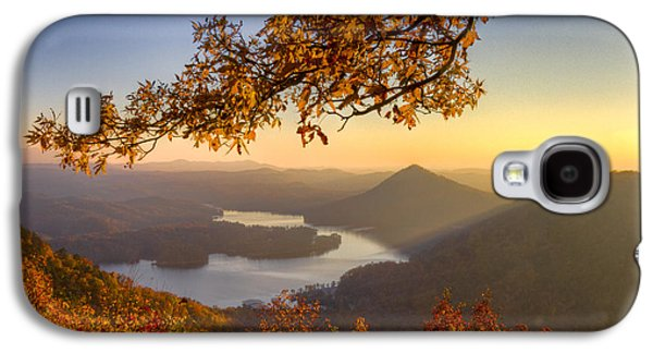 Sunset Light Galaxy S4 Case by Debra and Dave Vanderlaan