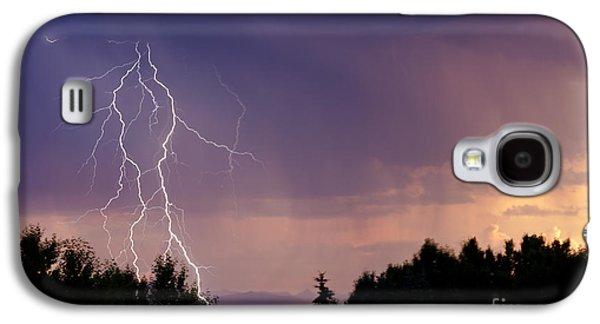 Sunset Lightning Galaxy S4 Case