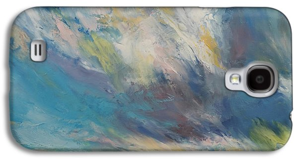 Clouds At Sunset Galaxy S4 Case by Michael Creese