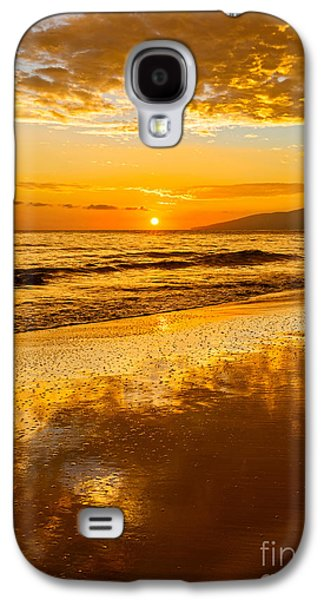 Sunset On Lahaina Galaxy S4 Case