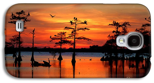 Sunset On The Bayou Galaxy S4 Case