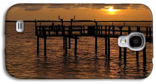 Sunset On The Dock Galaxy S4 Case