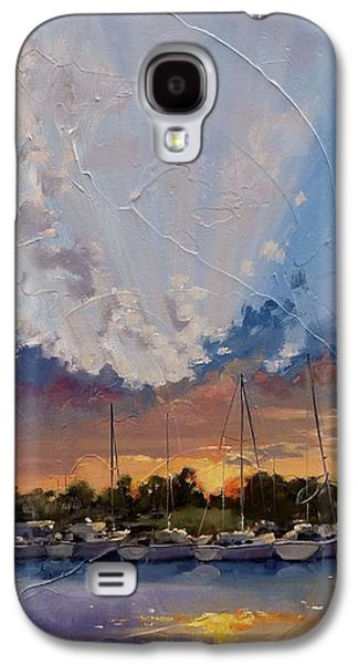 Sunset Over Bay Point Galaxy S4 Case by Laura Lee Zanghetti