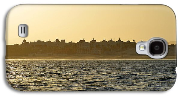 Sunset Over Cabo Galaxy S4 Case by Christine Till