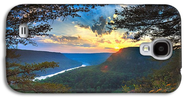 Sunset Over Edwards Point Galaxy S4 Case