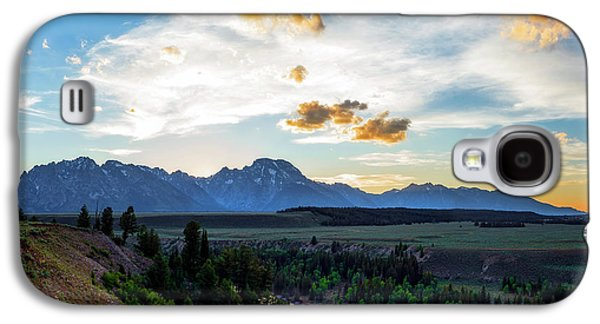 Sunset Over Grand Teton National Park Galaxy S4 Case by Babak Tafreshi