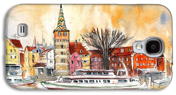 Sunset Over Lindau On Lake Constance Galaxy S4 Case by Miki De Goodaboom