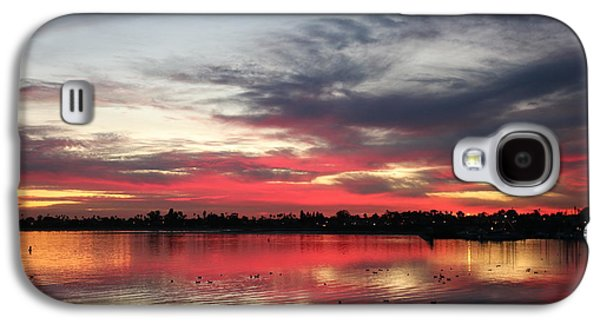 Sunset Over Mission Bay  Galaxy S4 Case