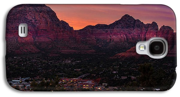 Sunset Over Sedona Az Galaxy S4 Case