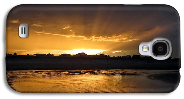 Sunset Over The City Galaxy S4 Case by Zina Stromberg