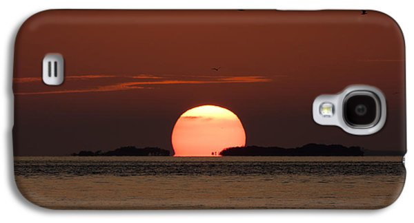 Sunset Over The Keys Galaxy S4 Case