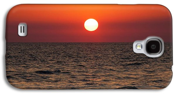 Sunset Over The Ocean Galaxy S4 Case