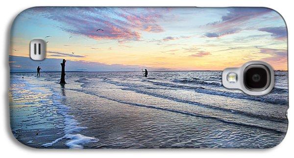 Sunset Paradise Jekyll Island  Galaxy S4 Case by Betsy Knapp