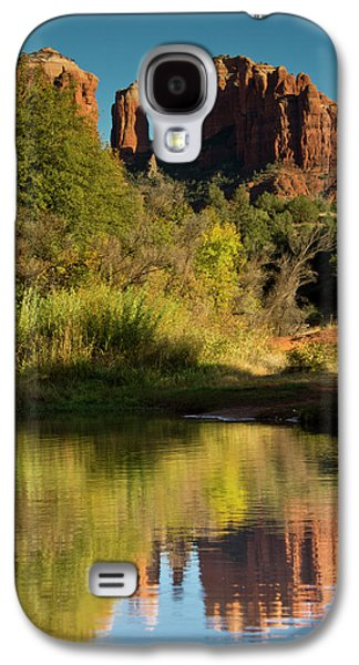 Sunset, Reflections, Oak Crek Galaxy S4 Case by Michel Hersen