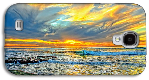 Sunset Ride Galaxy S4 Case by Baywest Imaging