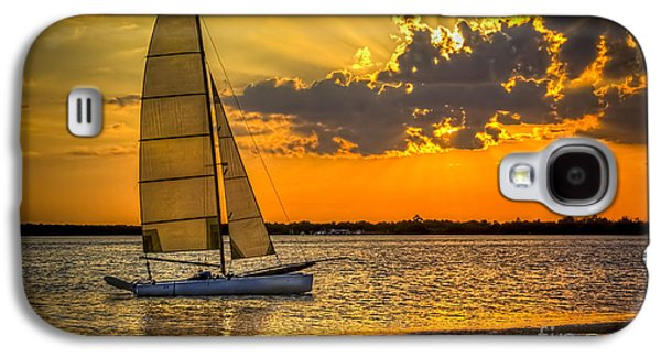 Sunset Sail Galaxy S4 Case by Marvin Spates