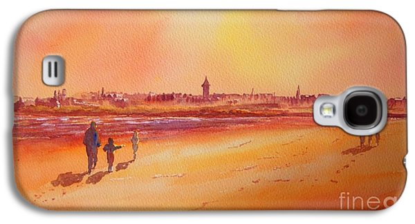 Sunset St Andrews Scotland Galaxy S4 Case by Beatrice Cloake