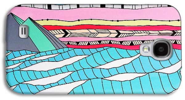 Sunset Surf Galaxy S4 Case by Susan Claire