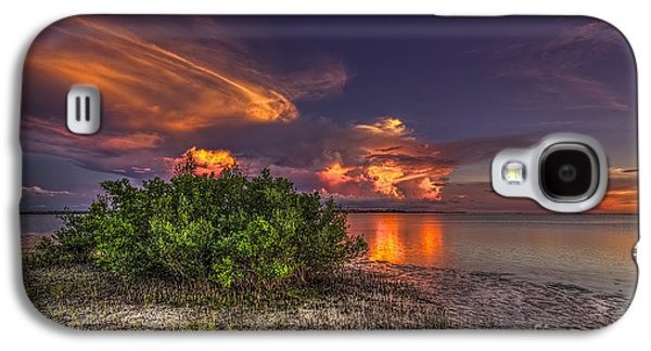 Sunset Thunder Storms Galaxy S4 Case by Marvin Spates