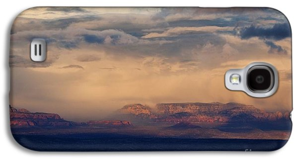 Sunset Winter Storm In Secret Mountain Wilderness Galaxy S4 Case