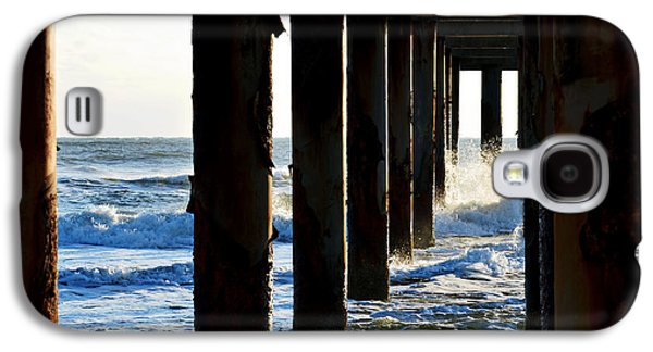 Galaxy S4 Case featuring the photograph Sunwash At St. Johns Pier by Anthony Baatz