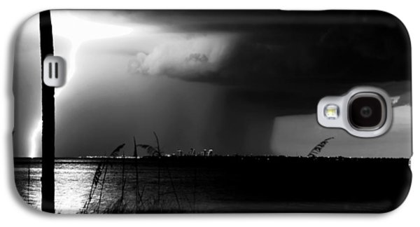 Super Cell Over Tampa Bay Galaxy S4 Case by David Lee Thompson
