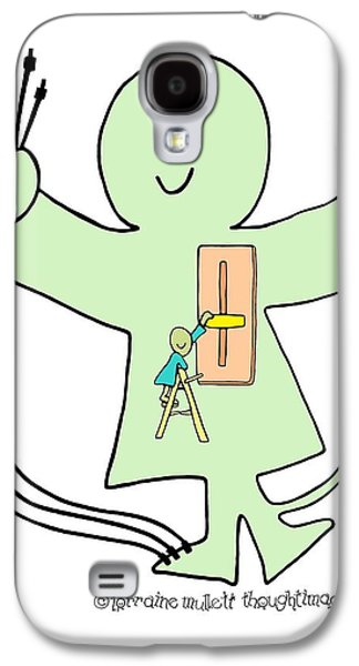 Super-self Dimmer Switch Galaxy S4 Case by Lorraine Mullett