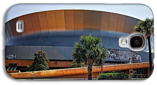 Architecture Metal Prints Galaxy S4 Cases - Superdome Galaxy S4 Case by Steve Harrington