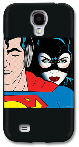 Superman And Catwoman  Galaxy S4 Case