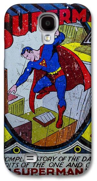 Superman Galaxy S4 Case by Mitch Shindelbower