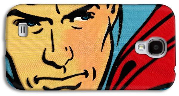 Superman Pop Galaxy S4 Case by Tony Rubino