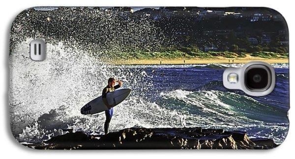 Surfer Galaxy S4 Case by Miroslava Jurcik