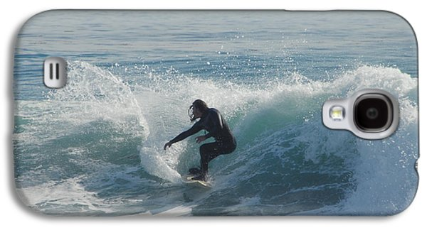 Surfing In The Sun Galaxy S4 Case by Donna Blackhall