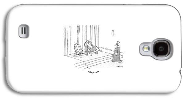 Surprise! Galaxy S4 Case by Mick Stevens