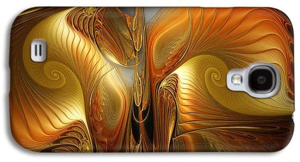 Surrealistic Landscape-fractal Design Galaxy S4 Case