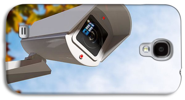 Surveillance Camera In The Daytime Galaxy S4 Case by Allan Swart