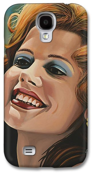 Susan Sarandon And Geena Davies Alias Thelma And Louise Galaxy S4 Case by Paul Meijering