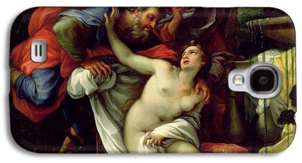 Susanna And The Elders Galaxy S4 Case